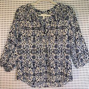Joie Addie B 100% silk blouse